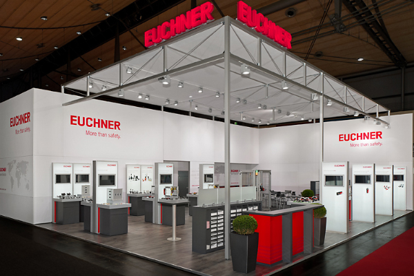 EUCHNER Messestand HMI
