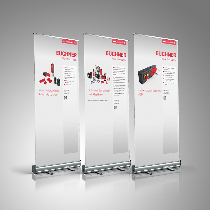 EUCHNER Rollup Displays
